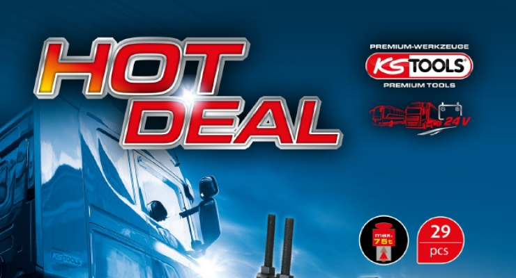 KS TOOLS - HOT DEAL ZA AVTOMEHANIKE