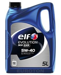 ELF EVOLUTION SXR 5W40 5L MOTORNO OLJE