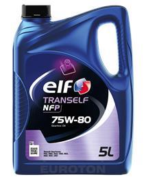 ELF TRANSELF NFP 75W80 5L OLJE MENJALNIKA