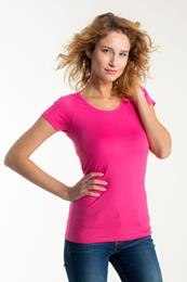 LADIES FITTED T-SHIRT SHORT SLEEVE