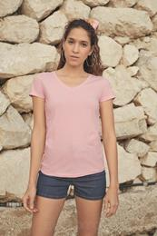 LADY FIT V-NECK VALUEWEIGHT T-SHIRT