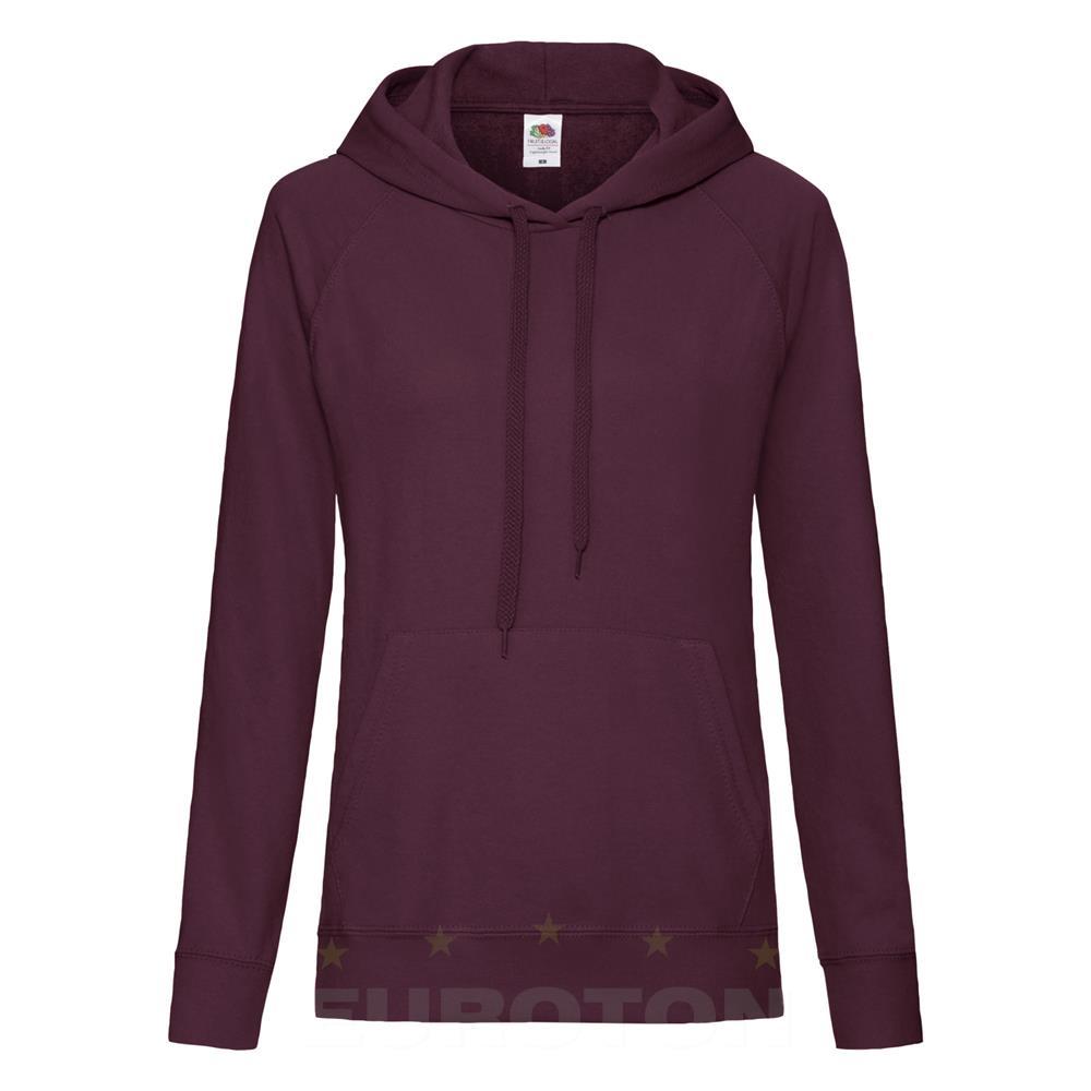 2416aafa LADY FIT LIGHTWEIGHT HOODED SWEAT - Euroton Promocijski Tekstil