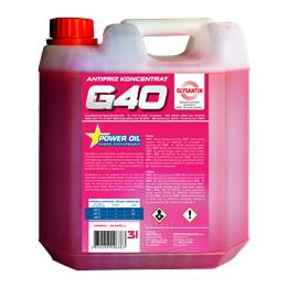 POWER OIL ANTIFRIZ G40 KONCENTRAT 3L