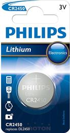 PHILIPS BATERIJA CR2450 Lithium Minicell  1/1