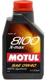MOTUL 8100 X-MAX 0W40 1L MOTORNO OLJE
