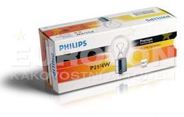 PHILIPS ŽARNICA P21/4W Standard CP 1/1