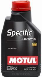 MOTUL SPECIFIC 2312  0W30 1L MOTORNO OLJE