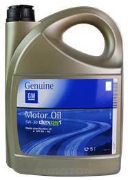 GM OPEL DEXOS1 GEN 2 5W30 5L MOTORNO OLJE