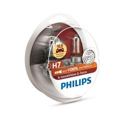 PHILIPS ŽARNICA H7 X-Treme Vision G-FORCE S2 2/1.