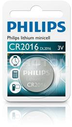 PHILIPS BATERIJA CR2016 Lithium Minicell 1/1