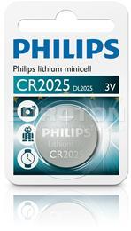 PHILIPS BATERIJA CR2025 Lithium Minicell 1/1