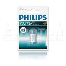 PHILIPS BATERIJA CR123A Lithium Photocell 1/1