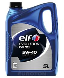 ELF EVOLUTION 900 NF 5W40 5L MOTORNO OLJE
