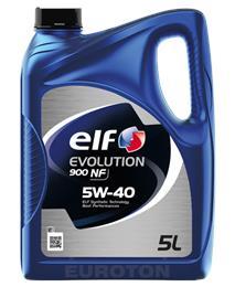 ELF EVOLUTION 900 NF 5W40 5L MOTORNO OLJE