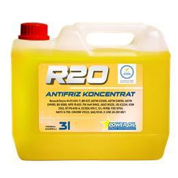 POWER OIL RUMENI ANTIFRIZ R20 (NRC) KONCENTR 3L