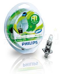 PHILIPS ŽARNICA H1 EcoVision S2 2/1 - NETTO CENA!!!