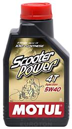 MOTUL SCOOTER POWER 4T 5W40 1L OLJE ZA MOTOCIKLE