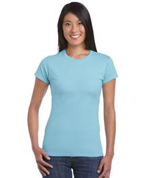 SOFTSTYLE LADIES FITTED RING SPUN T-SHIRT