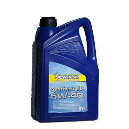POWER OIL SYNTHETIC TD 5W40 5L MOTORNO OLJE