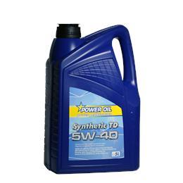 POWER OIL SYNTHETIC TD 5W40 5L MOTORNO OLJE