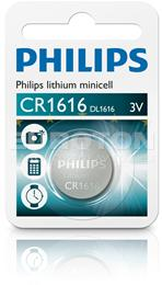 PHILIPS BATERIJA CR1616 LITHIUM MINICELL 1/1