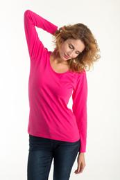 LADIES FITTED T-SHIRT LONG SLEEVE