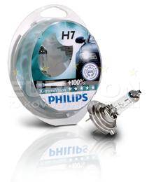 PHILIPS ŽARNICA H7 X-Treme Vision + S2 2/1.