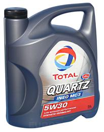 TOTAL QUARTZ INEO MC3 5W30 5L MOTORNO OLJE