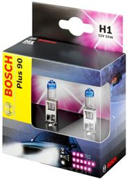 BOSCH ŽARNICA H1 Plus 90 box of two 2/1