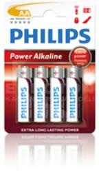 PHILIPS BATERIJA LR6 (AA) POWER ALKALINE 4/1 - BLISTER