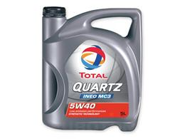 TOTAL QUARTZ INEO MC3 5W40 5L MOTORNO OLJE