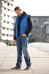 M Flis Men's Bonded Fleece Jacket JN1006