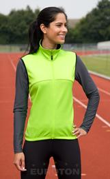 LADIES AIRFLOW SOFTSHELL GILET