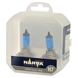 NARVA ŽARNICA RANGE POWER WHITE H7  RPW 12V 85W PX26D 4500K XENON WHITE NVA S2 2/1