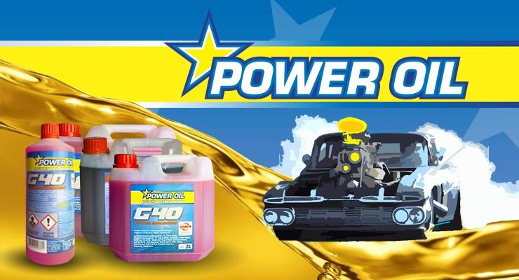 Linija izdelkov POWER OIL!
