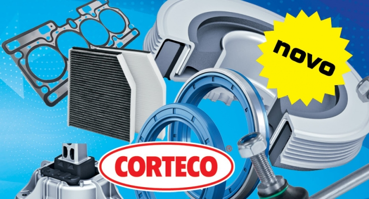 Novo v poslovalnicah -  CORTECO