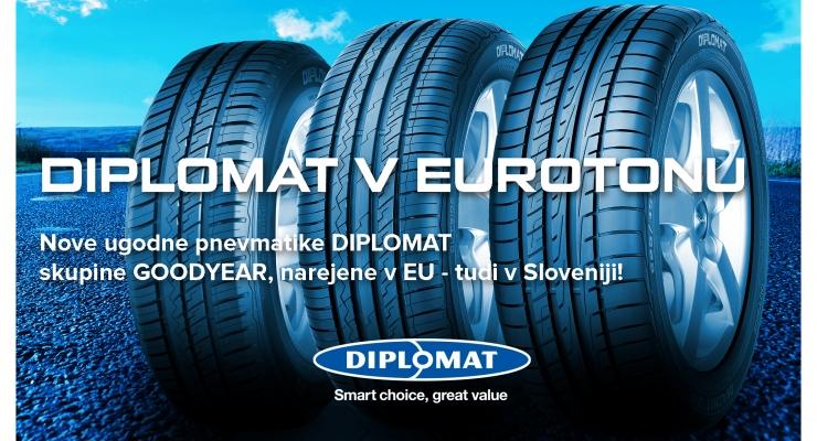 DIPLOMAT nove pnevmatike v Eurotonu