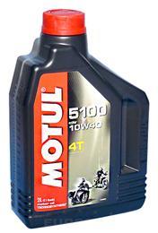 MOTUL 5100 ESTER 4T 10W40 2L OLJE ZA MOTOCIKLE