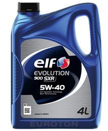 ELF EVOLUTION SXR 5W40 4L MOTORNO OLJE